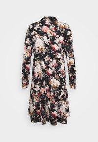ONLY - ONLLARRY SHORT DRESS - Shirt dress - black - 1