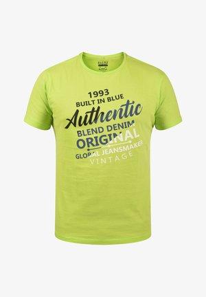 T-shirt imprimé - acid lime