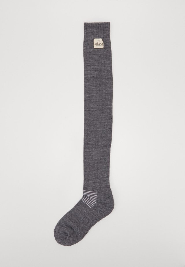 OVERKNEE SOCKS - Sports socks - grey