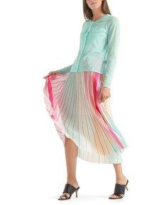 Marc Cain - MIT PLISSEES - A-line skirt - multi-coloured - 3
