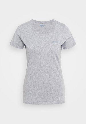 JUNE - Basic T-shirt - grey marl