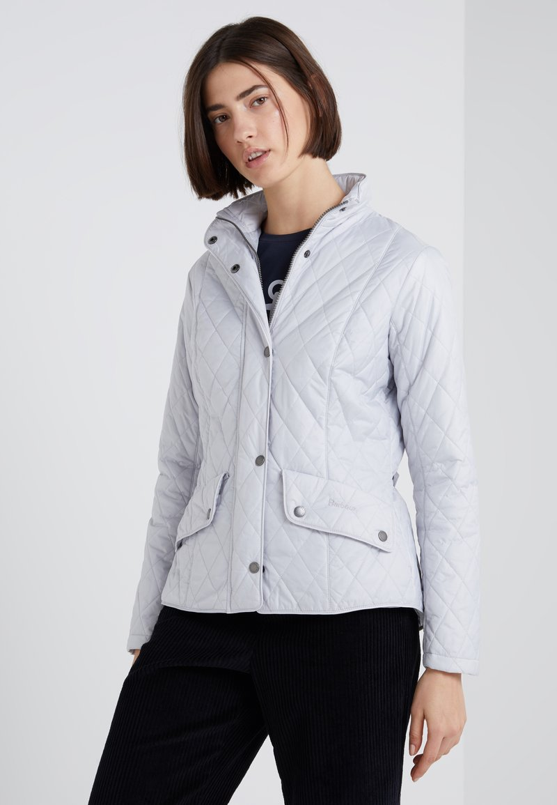 Barbour - FLYWEIGHT CAVALRY QUILT - Light jacket - ice white