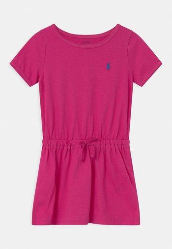 TIE  - Jersey dress - accent pink