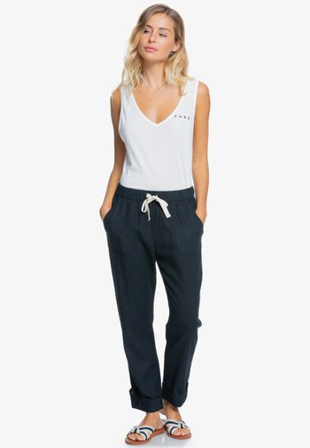 ON THE SEASHORE  - Trousers - anthracite