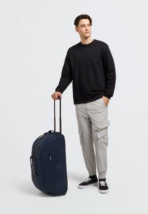 Wheeled suitcase - blue bleu