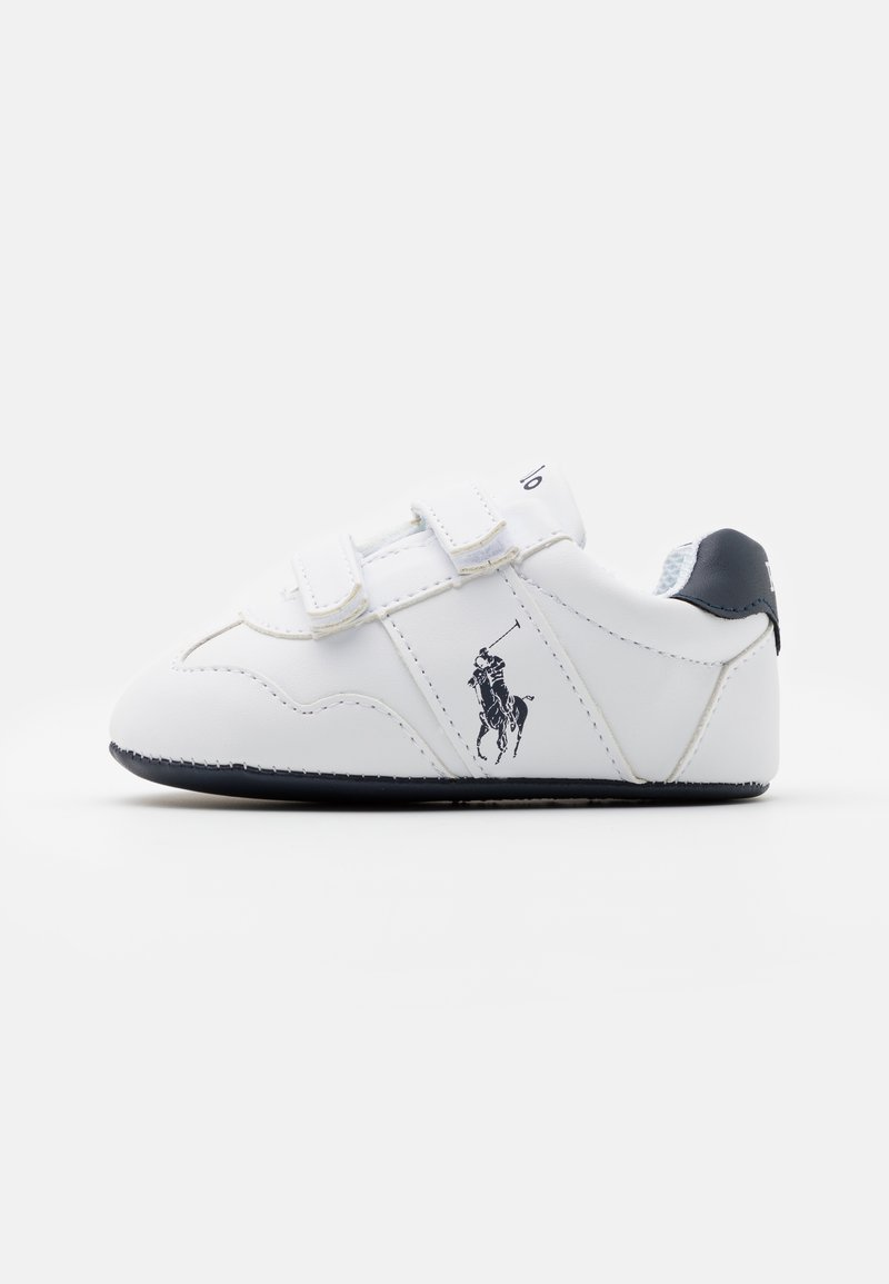 Polo Ralph Lauren - BIG PONY JOGGER LAYETTE UNISEX - Patucos - white/navy