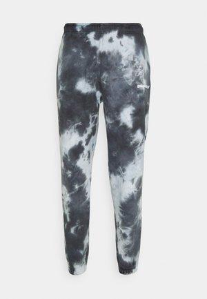 CLASSIC JOGGER TIE DYE UNISEX - Spodnie treningowe - black