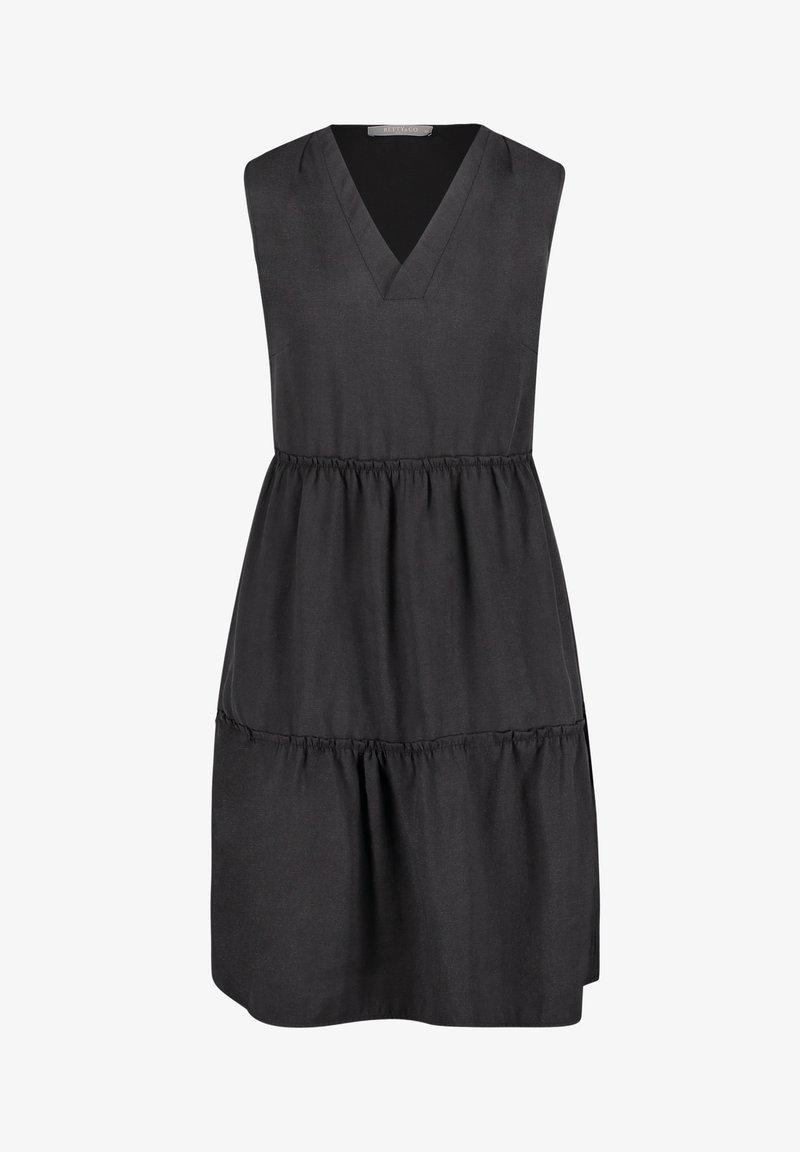 Betty & Co - MIT RAFFUNG - Day dress - schwarz