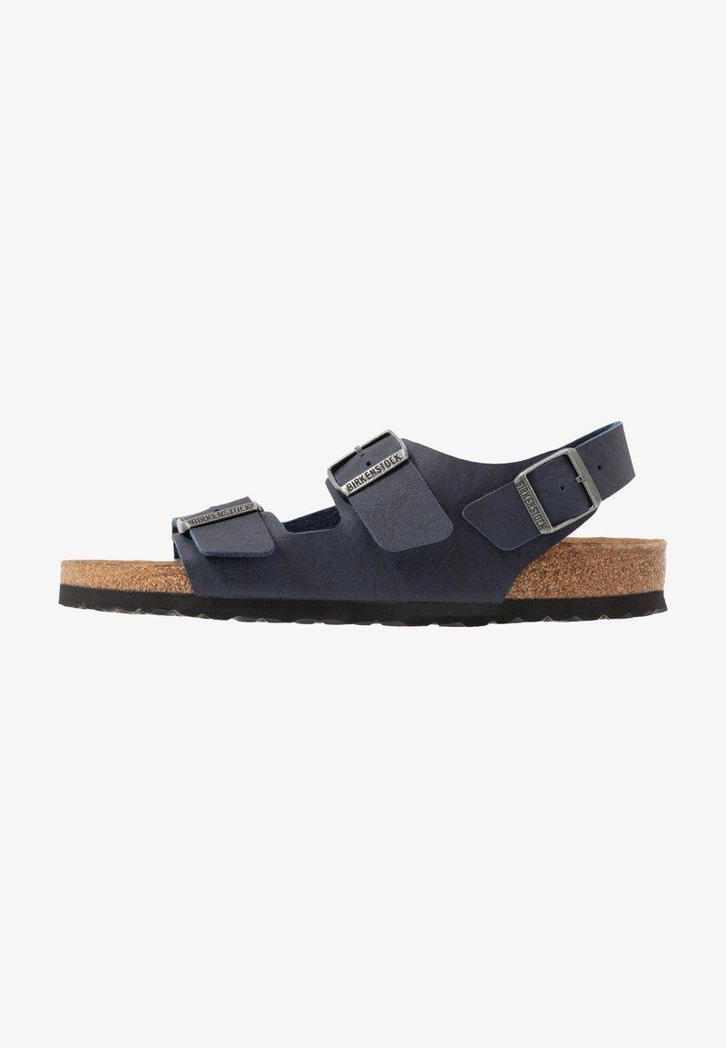 Birkenstock - MILANO BF VEGA - Sandals - matt navy