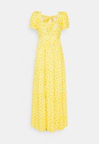 Diane von Furstenberg - POPPY DRESS - Maxi dress - sunshine yellow - 0