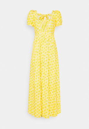 POPPY DRESS - Maxi dress - sunshine yellow