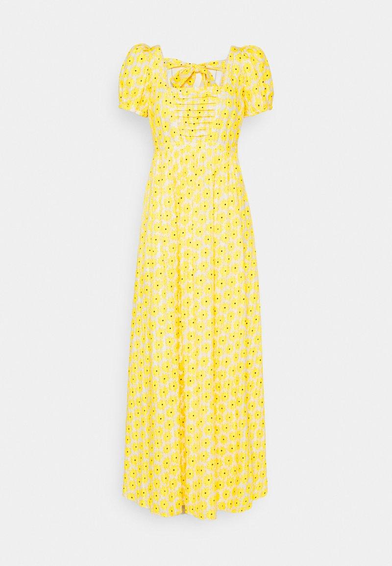 Diane von Furstenberg - POPPY DRESS - Maxi dress - sunshine yellow