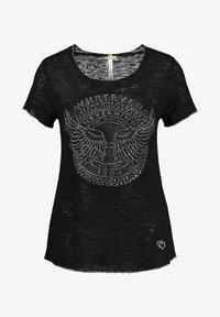 Key Largo - Print T-shirt - schwarz - 0