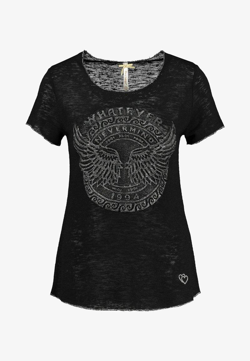 Key Largo - Print T-shirt - schwarz