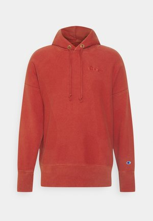 HOODED - Sweater - red