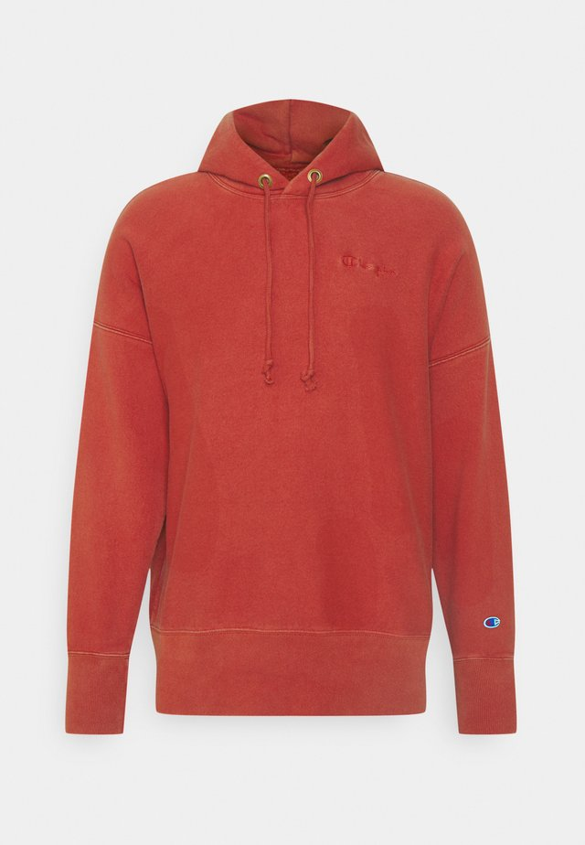 HOODED - Sweatshirt - red