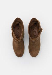 Musse & Cloud - MARGO - Cowboy/biker ankle boot - cognac - 5