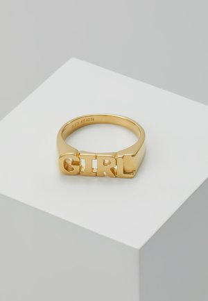 GIRL RING - Ring - gold-coloured