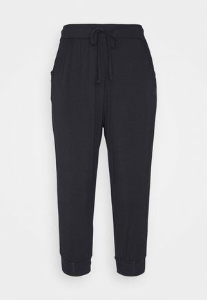 CAPRI PANTS RELAXED - Urheilucaprit - midnight blue