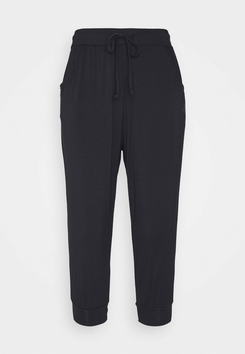 Curare Yogawear - CAPRI PANTS RELAXED - 3/4 sports trousers - midnight blue