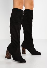 New Look Wide Fit - WIDE FIT DARBLE - Bottes - black - 0