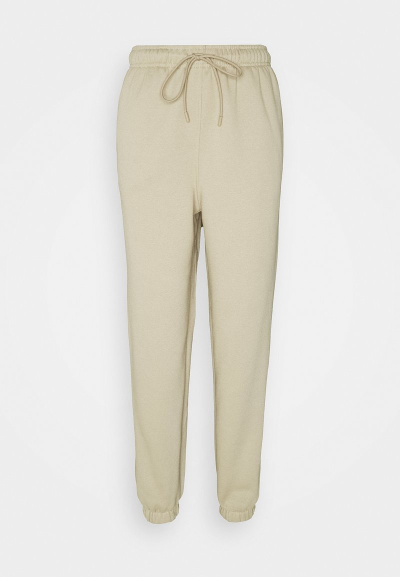 Topshop Tall - HARLEY  - Tracksuit bottoms - stone