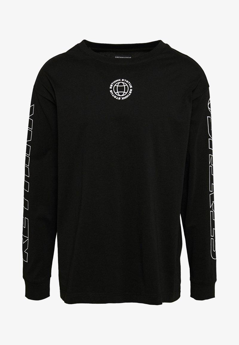 RETHINK Status - Långärmad tröja - black