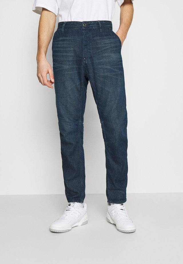 GRIP 3D RELAXED TAPERED - Jeans baggy - katon denim o - worn in atoll blue