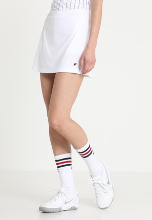 SKORT SHIVA - Sports skirt - weiß