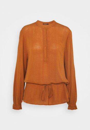 NORI VENETO SHIRT - Blouse - deep amber
