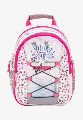 MINI KIDDY - Rucksack - light grey  pink