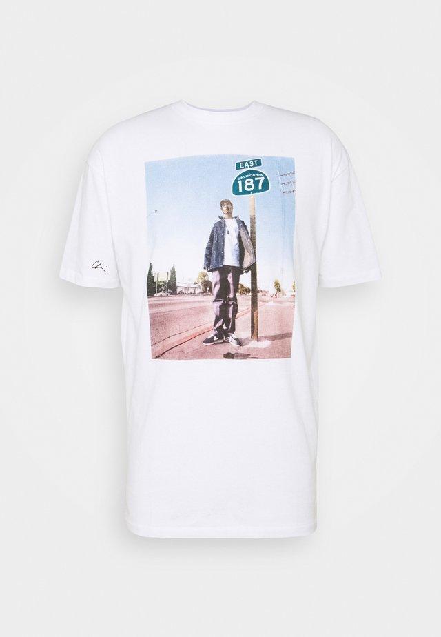SNOOP 187 - T-shirts med print - white