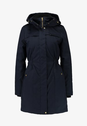 FRIDA TRIM JACKET - Abrigo corto - navy noir