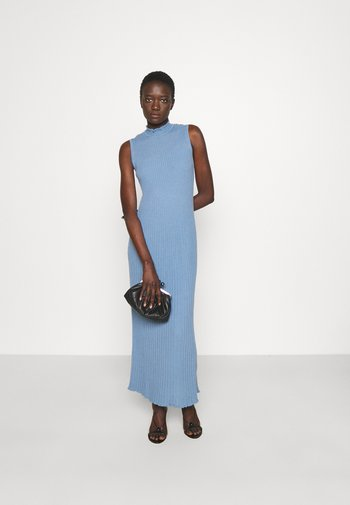 SLEEVELESS LONGDRESS - Jumper dress - forever blue