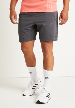 AEROREADY 3-STRIPES 8-INCH SHORTS - Sports shorts - grey
