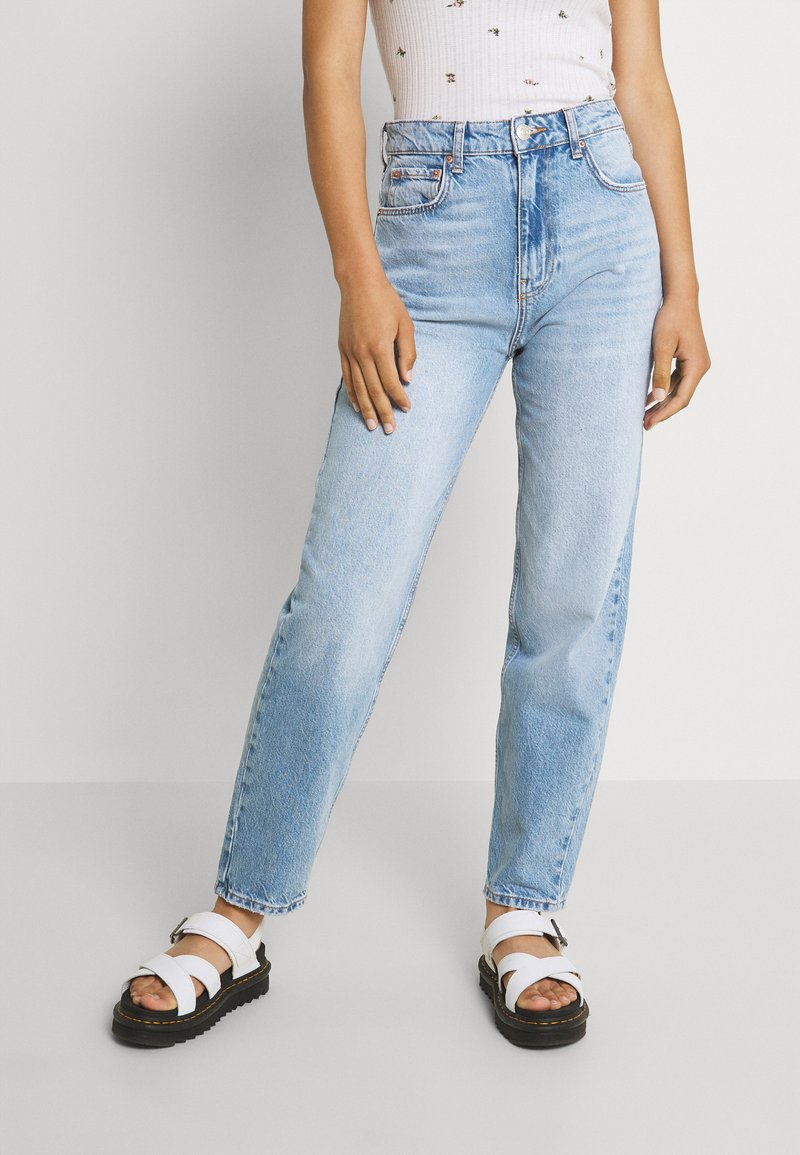Gina Tricot - VINTAGE HIGH WAIST  - Relaxed fit jeans - mid blue