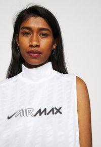 Nike Sportswear - DRESS - Maxi dress - white/white/black - 4
