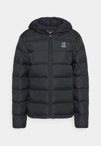 Haglöfs - BIELD DOWN HOOD  - Down jacket - true black - 3