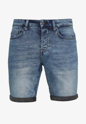 ONSPLY REG - Jeansshorts - blue denim