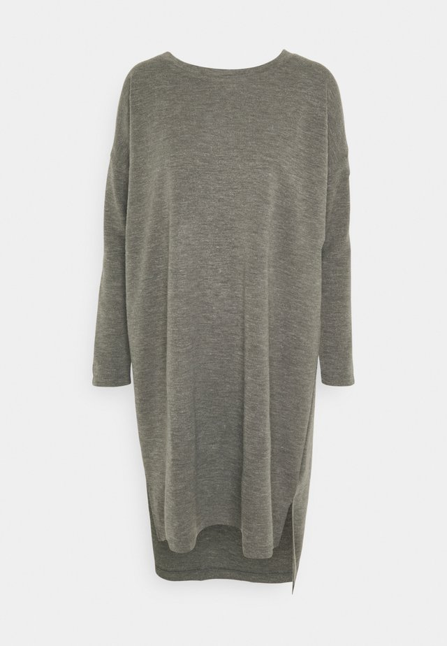 VMAMAIMARCO O NECK DRESS - Jumper dress - medium grey melange