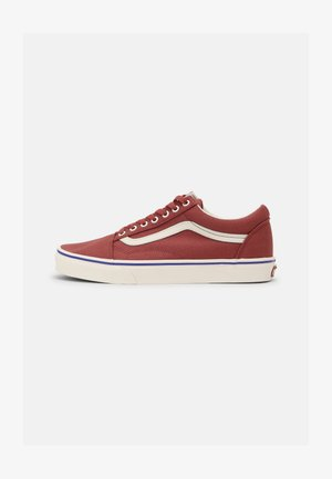 OLD SKOOL UNISEX - Sneakers laag -  marsala/spectrum blue