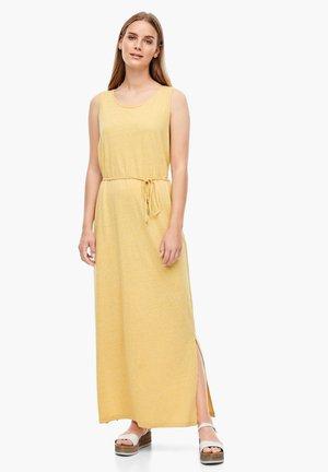 Maxi dress - yellow melange