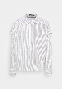 Scotch & Soda - CLEAN STRIPE POPOVER - Button-down blouse - white - 0