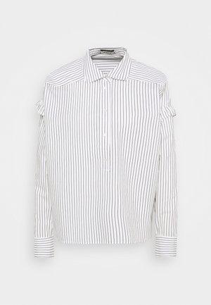 CLEAN STRIPE POPOVER - Košile - white