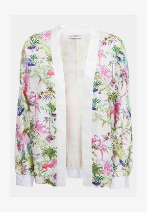 Summer jacket - blumenmuster