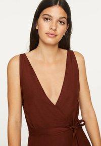 OYSHO - Day dress - brown - 4