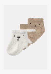 GAP - COZY 3 PACK UNISEX - Socks - ivory frost - 0