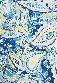 Lauren Ralph Lauren - MUNZIE ELBOW SLEEVE CASUAL DRESS - Žerzejové šaty - blue multi - 2