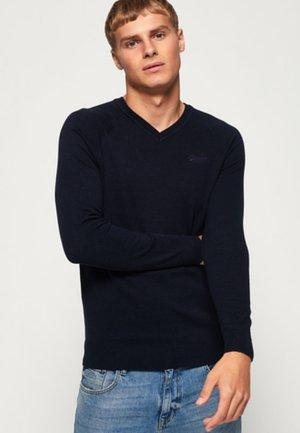 ORANGE LABEL - Sweatshirt - dark navy blue