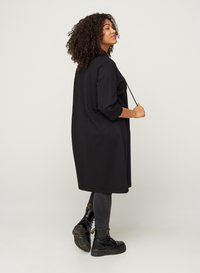 Zizzi - WITH 3/4 LENGTH SLEEVES AND A HOOD - Day dress - black - 2